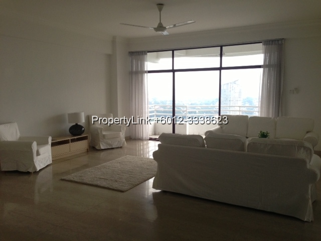 Desa Bangsar Ria, Hill Top Luxurious Condominium, Bangsar, Kuala Lumpur, Malaysia, For Rent 出租