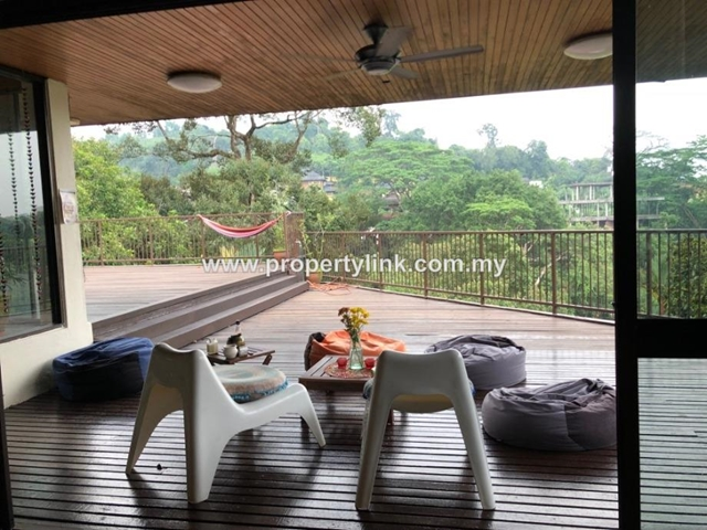 3-Storey detached house with a tropical swimming pool, Damansara Heights, for Rent 出租