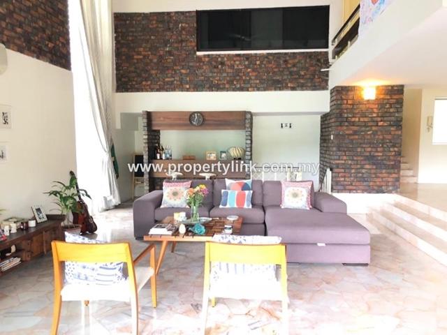 3-storey Bungalow with Tropical Swimming Pool, Bukit Ledang, Kuala Lumpur, Malaysia, for Rent 出租