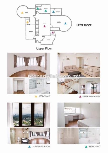 Jamnah View Penthouse, Bangsar, Kuala Lumpur, Malaysia, For Rent 出租