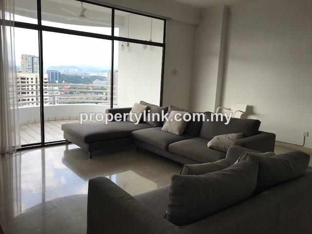 Desa Bangsar Ria Hilltop Luxurious Condominium, Bangsar, Kuala Lumpur, Malaysia, For Rent 出租