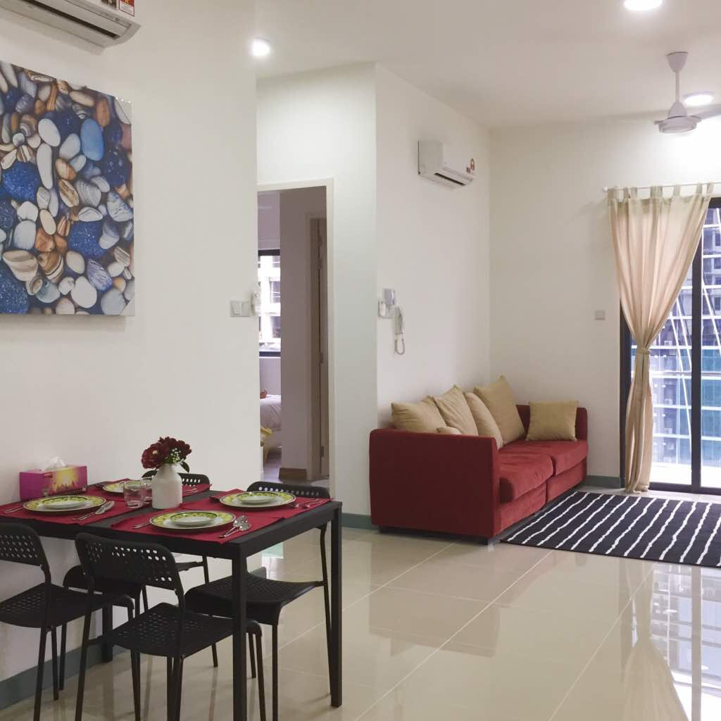 South View Serviced Apartment, Bangsar South City, Kuala Lumpur, Malaysia, For Rent 出租