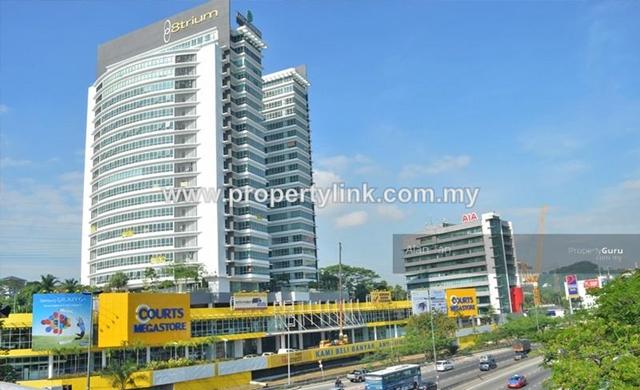 Atrium @ Sri Damansara, Office Penthouse, Selangor, Malaysia, For Sale 出售