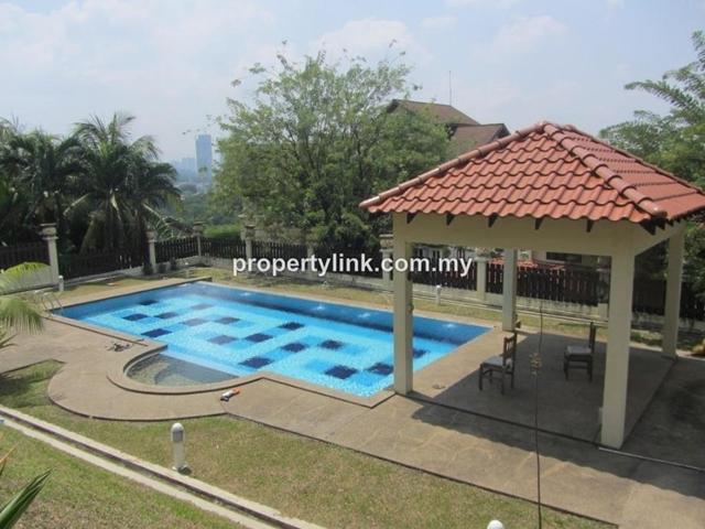 Bukit Pantai, 2-storey, Split-level, Detached house, Kuala Lumpur, Malaysia, For Rent 出租