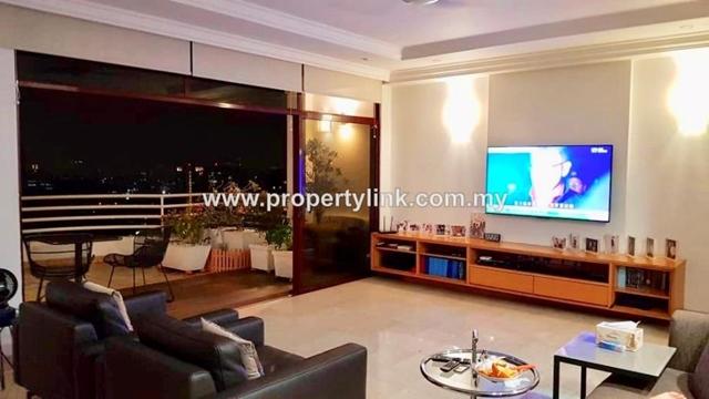 Desa Bangsar Ria Hilltop Luxurious Penthouse, Bangsar, Kuala Lumpur, Malaysia, for Sale 出售