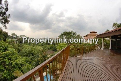 3-storey Bungalow with Tropical Swimming Pool, Damansara Heights, Kuala Lumpur, Malaysia, for Rent 出租