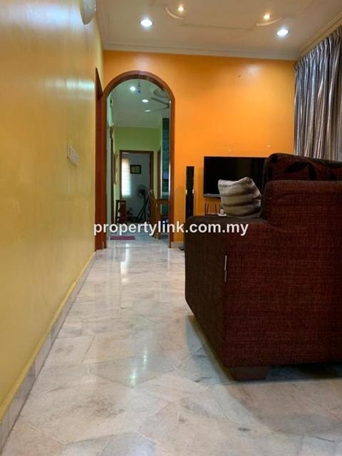 Tropicana Indah Link End Lot Single Storey House with land, Tropicana, Petaling Jaya, Selangor, Malaysia, for Sale 出售